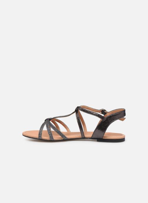 Sandales et nu-pieds Esprit PEPE STRAP Argent vue face