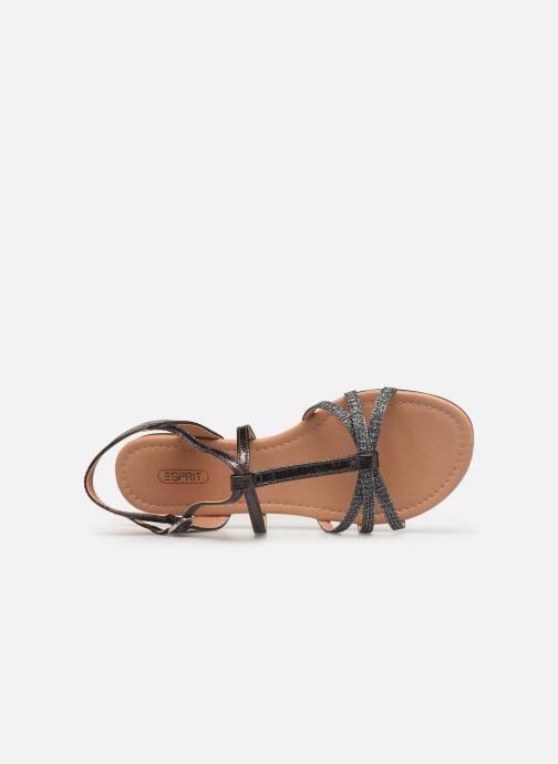 Sandales et nu-pieds Esprit PEPE STRAP Argent vue gauche