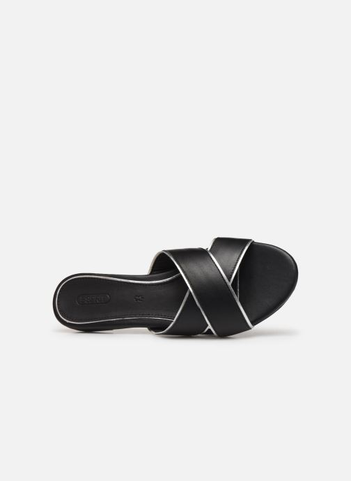 Mules & clogs Esprit AVA SLIDE Black view from the left