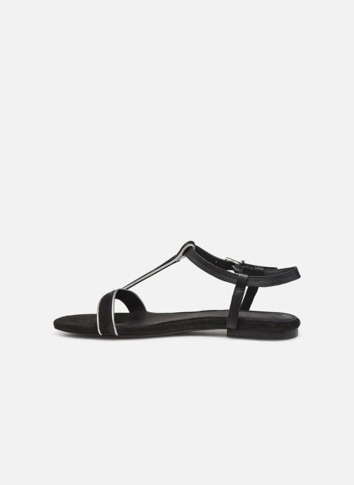 Sandales et nu-pieds Esprit CHERIE T STRAP Noir vue face