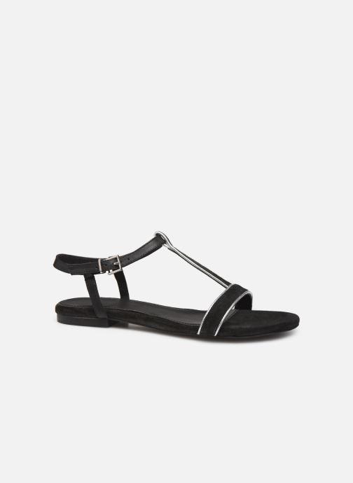 Sandales et nu-pieds Esprit CHERIE T STRAP Noir vue derrière