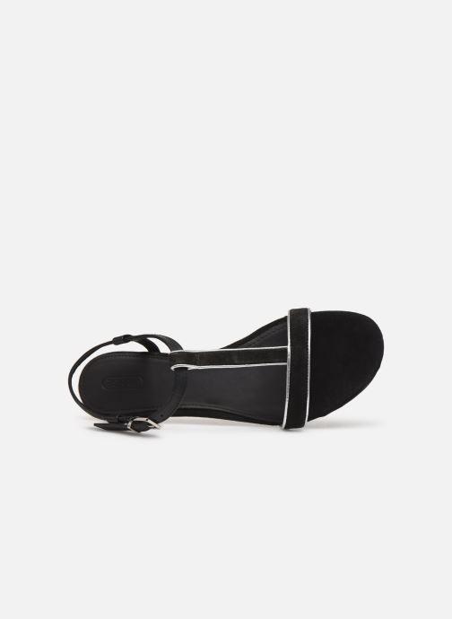 Sandales et nu-pieds Esprit CHERIE T STRAP Noir vue gauche