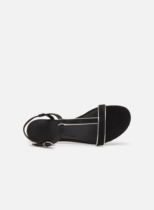 Sandals Esprit CHERIE T STRAP Black view from the left