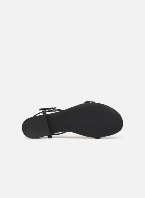 Sandales et nu-pieds Esprit CHERIE T STRAP Noir vue haut
