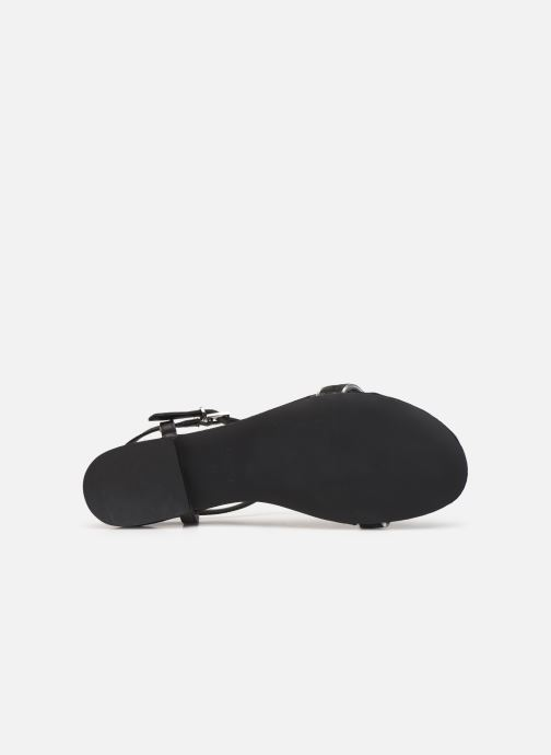 Sandals Esprit CHERIE T STRAP Black view from above