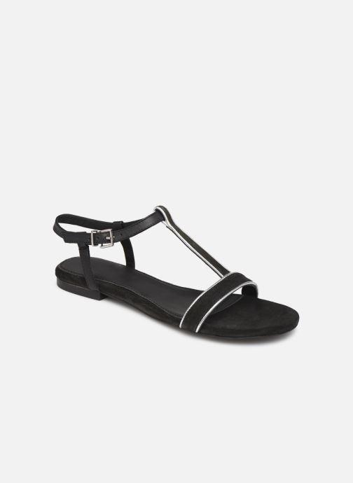 Sandales et nu-pieds Esprit CHERIE T STRAP Noir vue détail/paire