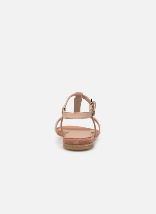 Sandals Esprit CHERIE T STRAP Pink view from the right