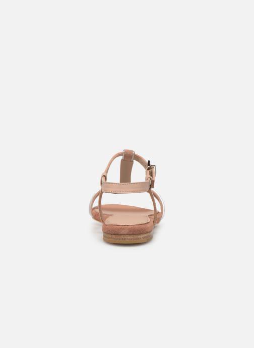 Sandales et nu-pieds Esprit CHERIE T STRAP Rose vue droite