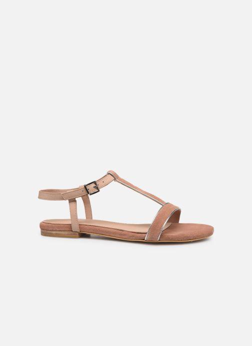 Sandales et nu-pieds Esprit CHERIE T STRAP Rose vue derrière
