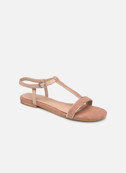Sandals Esprit CHERIE T STRAP Pink detailed view/ Pair view