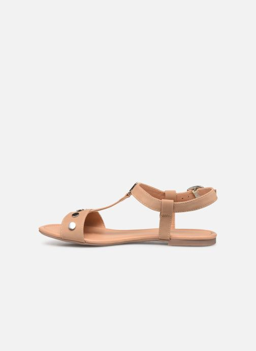 Sandals Esprit PEPE STUDS Beige front view