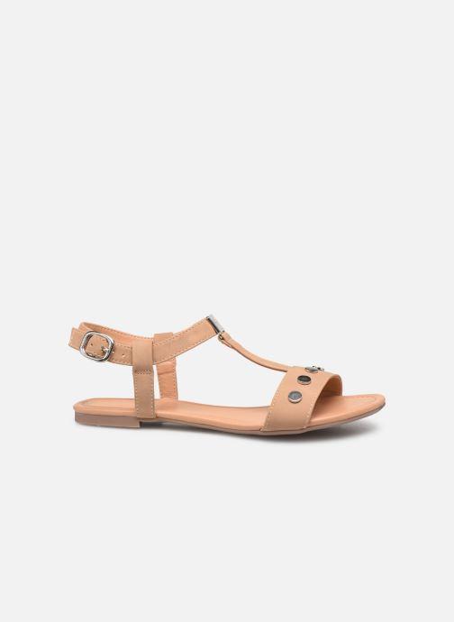 Sandals Esprit PEPE STUDS Beige back view