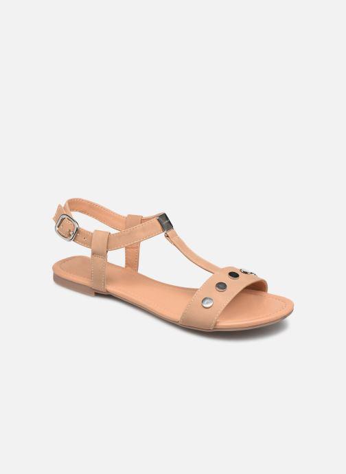 Sandales et nu-pieds Esprit PEPE STUDS Beige vue détail/paire