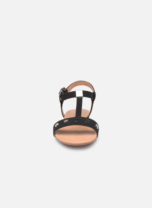 Sandals Esprit PEPE STUDS Black model view