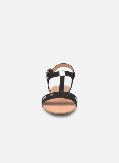 Sandales et nu-pieds Esprit PEPE STUDS Noir vue portées chaussures