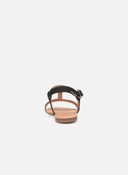 Sandales et nu-pieds Esprit PEPE STUDS Noir vue droite