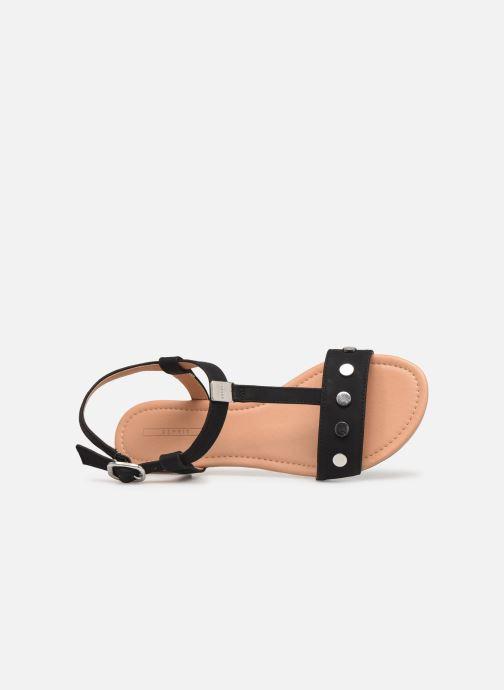 Sandales et nu-pieds Esprit PEPE STUDS Noir vue gauche