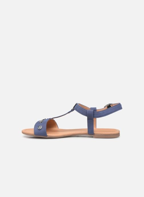 Sandales et nu-pieds Esprit PEPE STUDS Bleu vue face