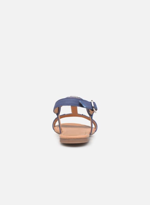 Sandales et nu-pieds Esprit PEPE STUDS Bleu vue droite