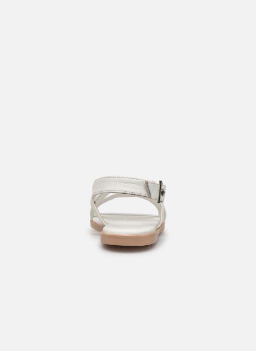 Sandaler Esprit ARISA SANDAL Hvid Se fra højre
