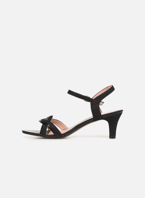 Sandales et nu-pieds Esprit DELFY WAVE Noir vue face