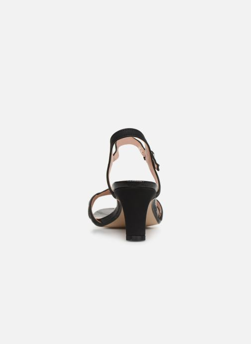 Sandales et nu-pieds Esprit DELFY WAVE Noir vue droite