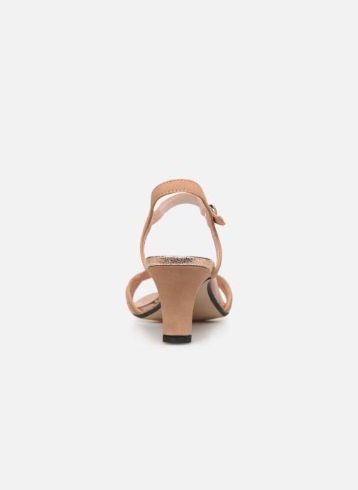 Sandales et nu-pieds Esprit DELFY WAVE Rose vue droite