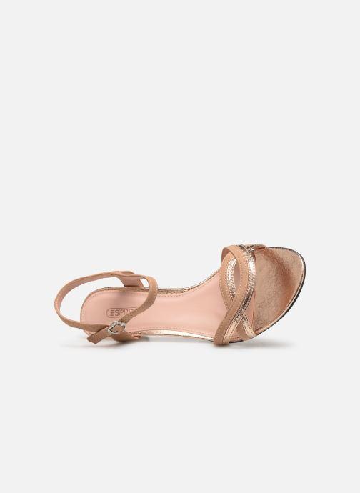 Sandales et nu-pieds Esprit DELFY WAVE Rose vue gauche