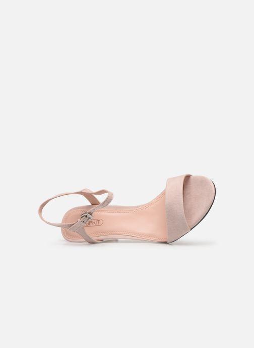 Sandales et nu-pieds Esprit VALERIE NUB Beige vue gauche