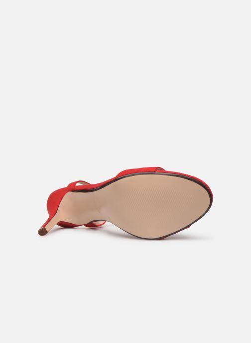 Sandales et nu-pieds Esprit VALERIE NUB Rouge vue haut