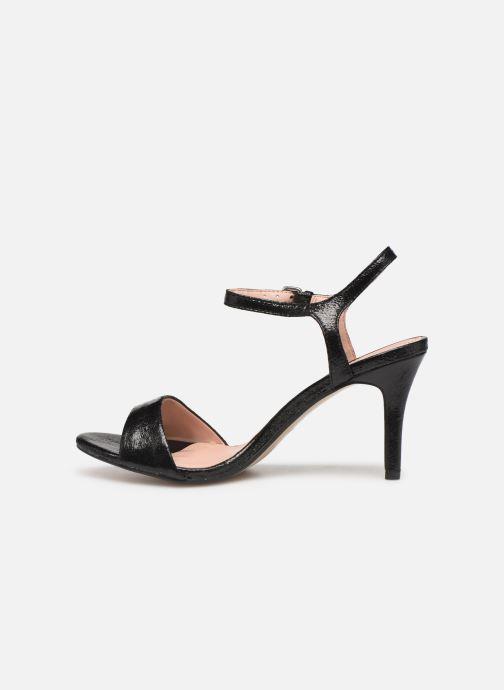 Sandals Esprit VALERIE MET Black front view