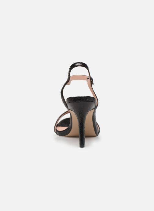 Sandals Esprit VALERIE MET Black view from the right