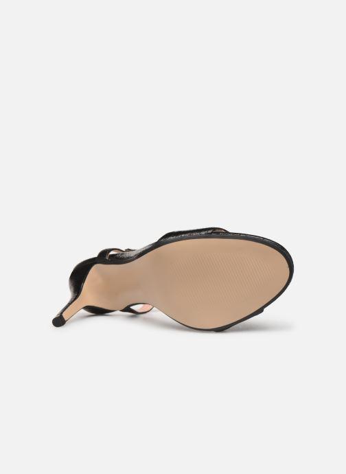Sandales et nu-pieds Esprit VALERIE MET Noir vue haut