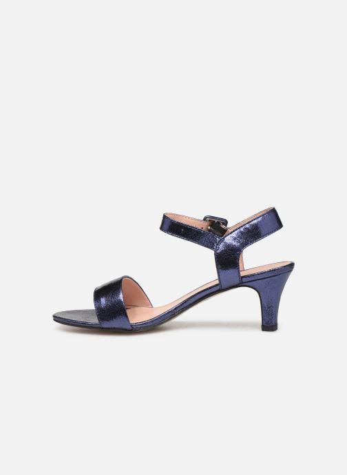 Sandales et nu-pieds Esprit DELFY MET SANDAL Bleu vue face