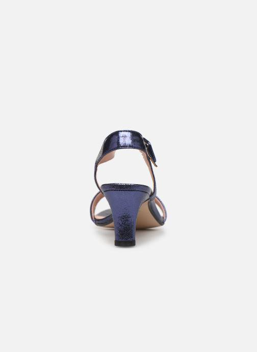 Sandales et nu-pieds Esprit DELFY MET SANDAL Bleu vue droite