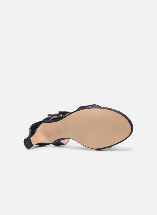 Sandales et nu-pieds Esprit DELFY MET SANDAL Bleu vue haut