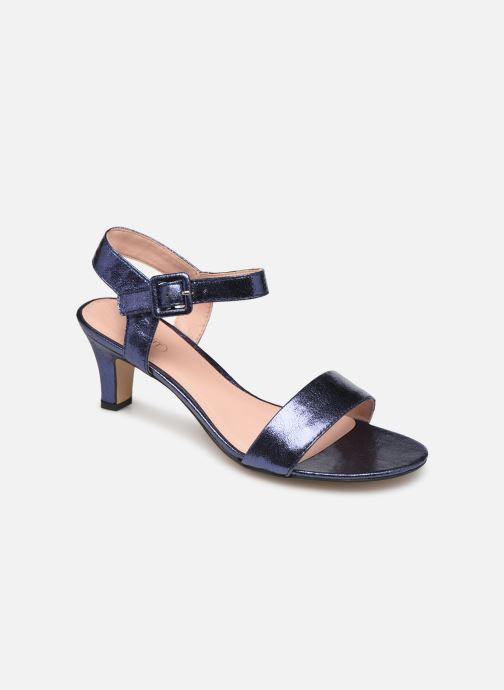Sandales et nu-pieds Esprit DELFY MET SANDAL Bleu vue détail/paire
