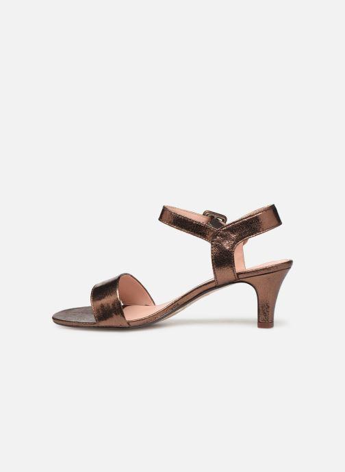 Sandales et nu-pieds Esprit DELFY MET SANDAL Or et bronze vue face