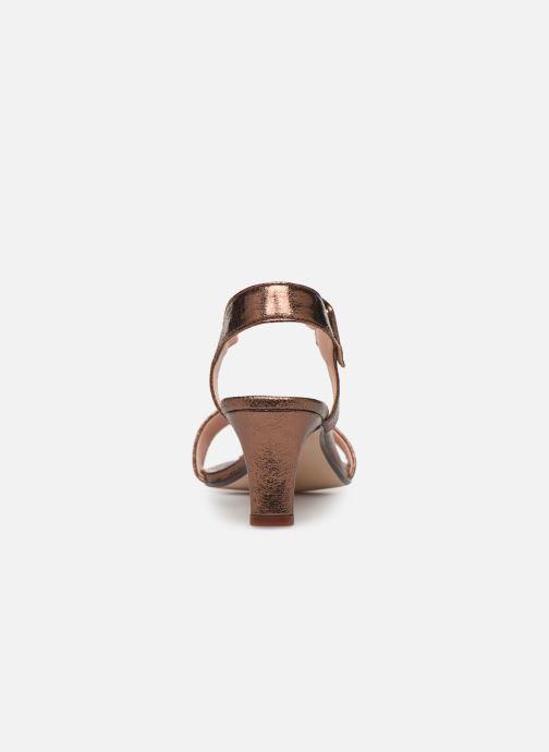 Sandales et nu-pieds Esprit DELFY MET SANDAL Or et bronze vue droite