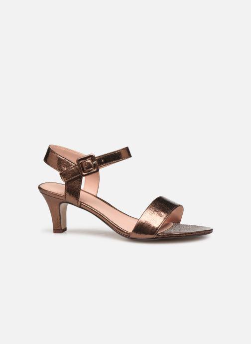 Sandales et nu-pieds Esprit DELFY MET SANDAL Or et bronze vue derrière