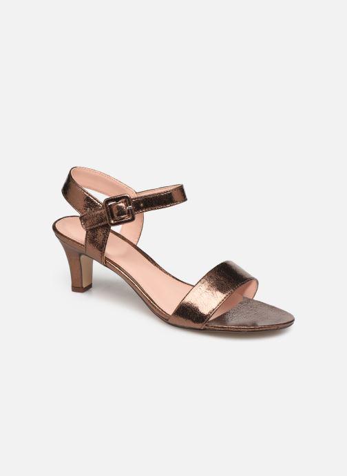 Sandales et nu-pieds Esprit DELFY MET SANDAL Or et bronze vue détail/paire