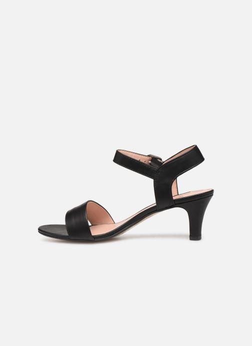 Sandales et nu-pieds Esprit DELFY SANDAL Noir vue face