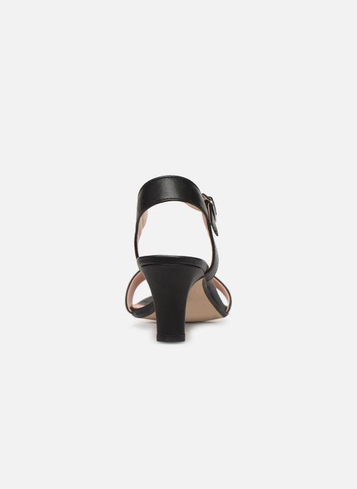 Sandales et nu-pieds Esprit DELFY SANDAL Noir vue droite