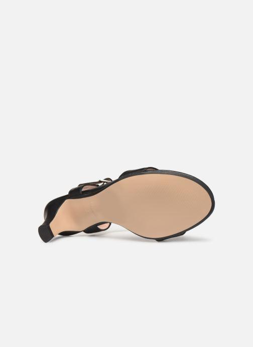 Sandales et nu-pieds Esprit DELFY SANDAL Noir vue haut