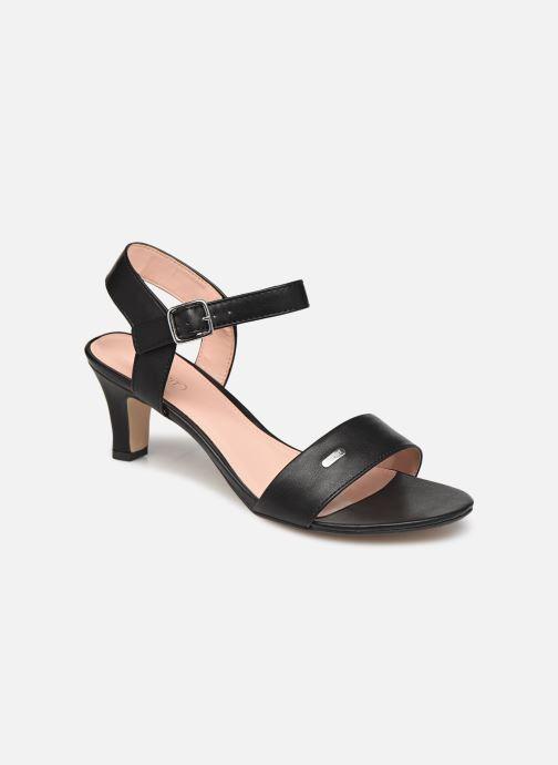 Sandaler Esprit DELFY SANDAL Sort detaljeret billede af skoene