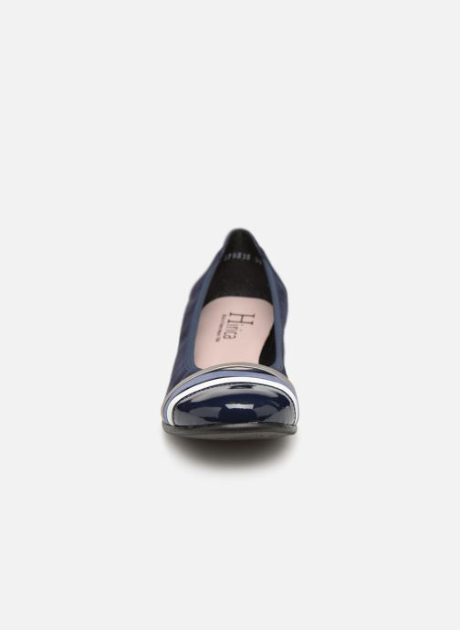Ballerines Hirica Marilou Bleu vue portées chaussures