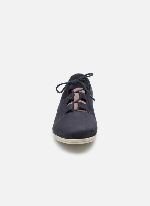 Chaussures à lacets Hirica Patty Bleu vue portées chaussures