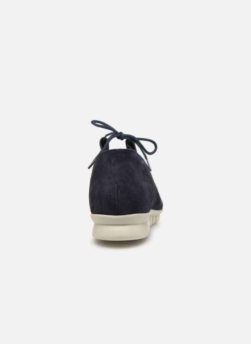 Chaussures à lacets Hirica Patty Bleu vue droite