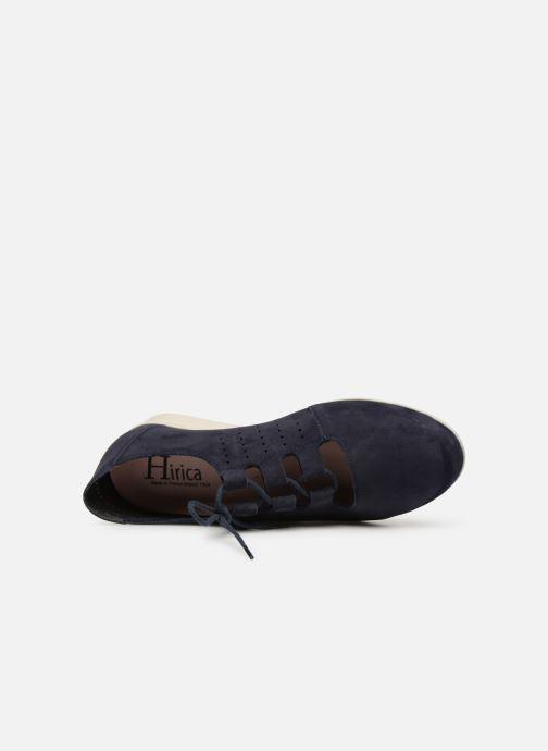 Chaussures à lacets Hirica Patty Bleu vue gauche