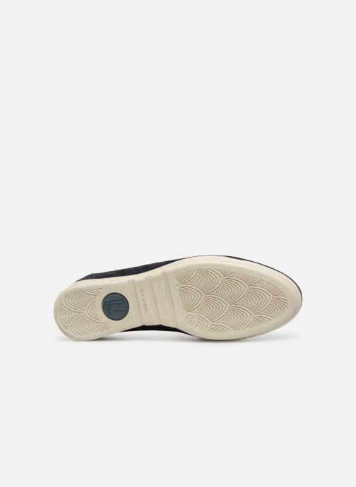 Chaussures à lacets Hirica Patty Bleu vue haut